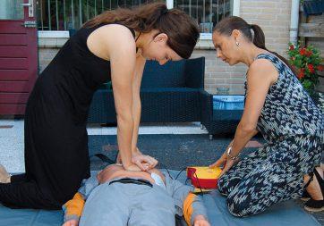Reanimatie en gebruik AED