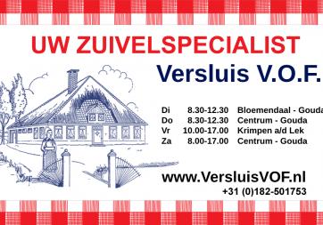 Logo Zuivelspecialist Versluis VOF