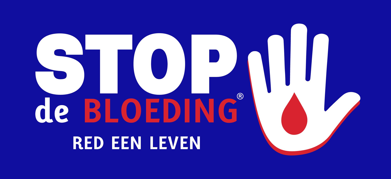Stop de bloeding, red een leven